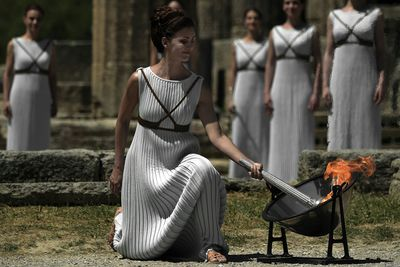 "The flame for South America's first Olympics has been lit at the birthplace of the ancient games in Greece, starting a 15-week journey culminating in the August 5 opening ceremony in Rio de Janeiro.<br style=""box-sizing: border-box;"" />"