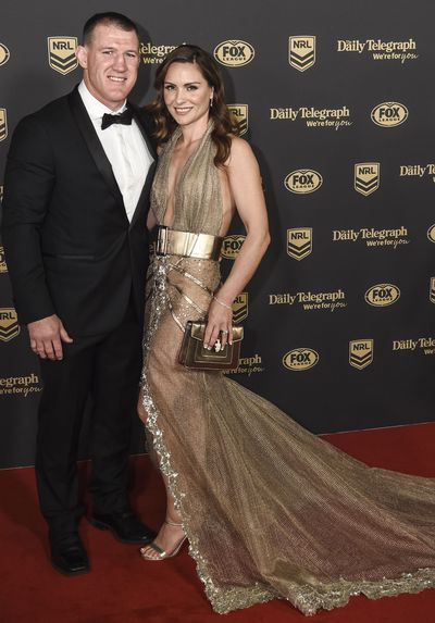 Paul and Anne Gallen at the 2019 Dally M Medal
