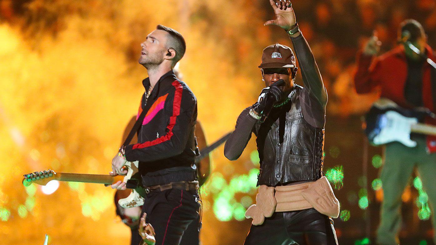 Maroon 5 and Travis Scott