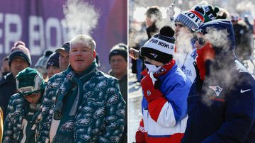 At -14 degrees, it's the coldest Super Bowl ever