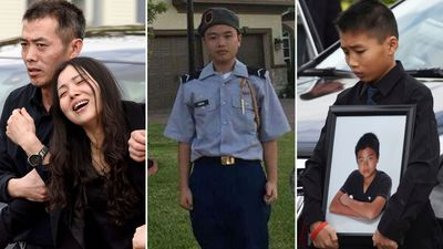 Family's anguish at funeral of army cadet slain in Florida shooting