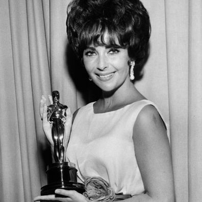 Elizabeth Taylor at the 1961 Oscars