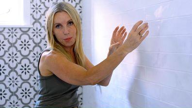 Cherie Barber's tip for saving money on a bathroom renovation