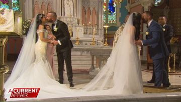 Two sisters, two brothers: One massive wedding