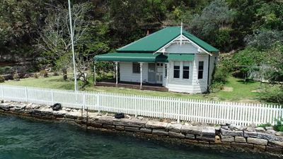 Waterfront home on the market for first time in 80 years