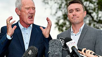 Steve Dickson and James Ashby (AAP)