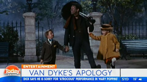 Dick Van Dyke apologises for Mary Poppins
