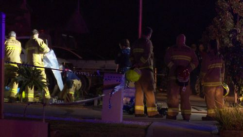 Emergency services were called to a house in Elderslie overnight after a suspicious fire.