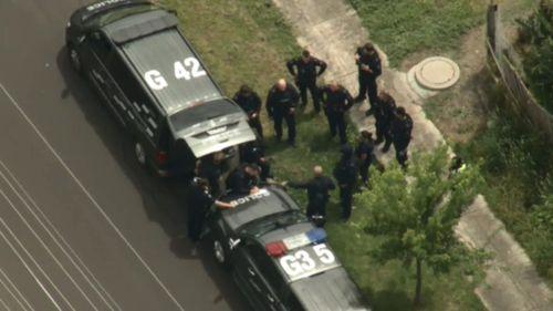Man arrested after barricading himself inside Melbourne home