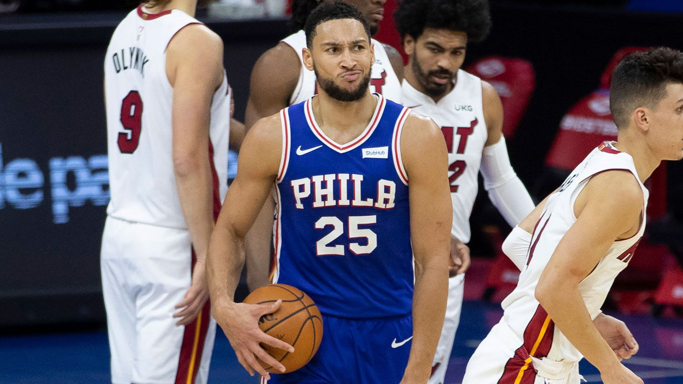 Ben Simmons 'ecstatic' to be staying at 76ers after Philadelphia's failed bid to land James Harden