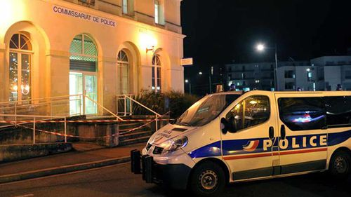 The police station in Joue-les-Tours. (AAP)