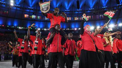 Kenya's bowling team