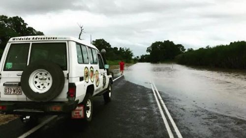During the floods, authorities repeatedly warned motorists to avoid crossing flooded roads. Picture: AAP