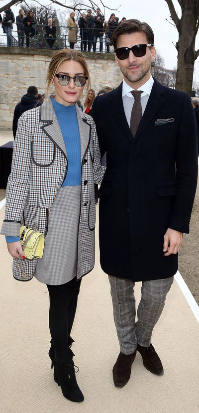 <strong>The society sweethearts<br />Olivia Palermo and Johannes Huebl</strong>