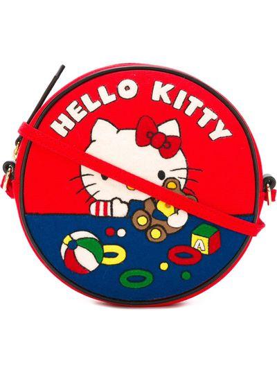 """Olympia Le-Tan 'Teddy Bear Dizzie' crossbody bag, $1060.58 at <a href=""""https://www.farfetch.com/au/shopping/women/olympia-le-tan--teddy-bear-dizzie-crossbody-bag-item-11469675.aspx?storeid=9214&from=1&ffref=lp_pic_134_3_"""" target=""""_blank"""">Farfetch</a>"""