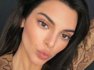 Kendall Jenner, selfie, Instagram