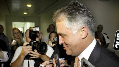 Malcolm Turnbull declared his candidacy for Opposition Leader after the Coalition lost to Kevin Rudd in the 2007 election and Howard lost his own seat.