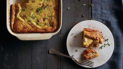 "Recipe:&nbsp;<a href=""http://kitchen.nine.com.au/2016/08/15/15/27/pumpkin-frittata"" target=""_top"">Pumpkin frittata</a>"