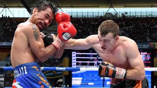Jeff Horn beat Manny Pacquiao in the Brisbane fight. (AAP)