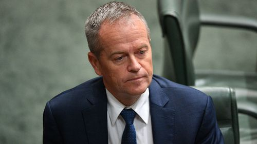 It took 14 questions before Mr Hart would say he supported Bill Shorten. Picture: AAP