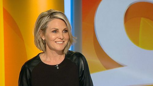 The TODAY Show's Georgie Gardner spoke out stamping out sexism in the workplace. (9NEWS)