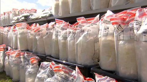Meth was found by WA Police in a truck and two vans.