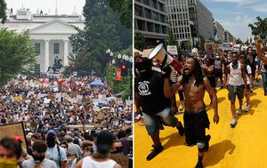 Gallery: George Floyd protests: Thousands take to the streets of Washington