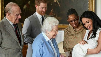 Prince Harry and Meghan Markle keep Archie Harrison's hair colour secret
