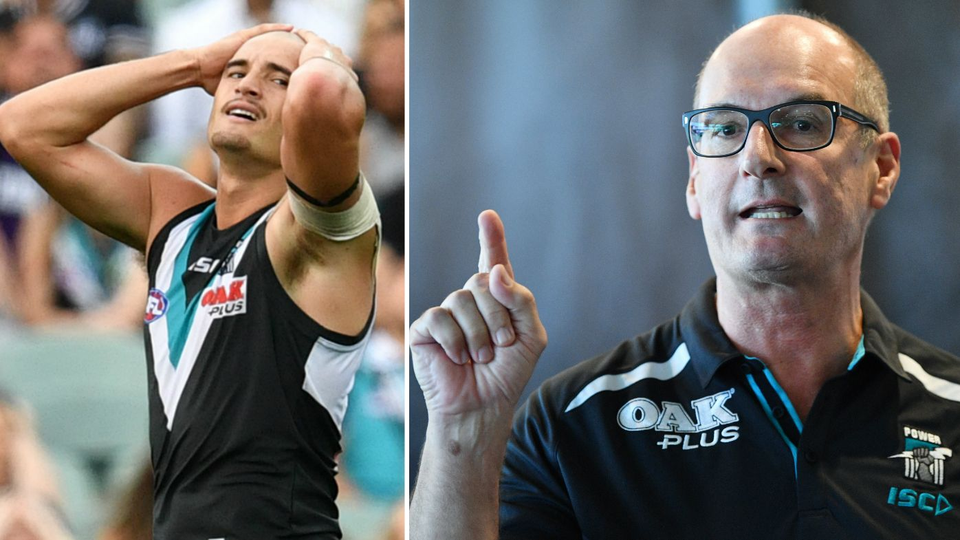 Port Adelaide chairman David Koch slams AFL over Powell-Pepper findings