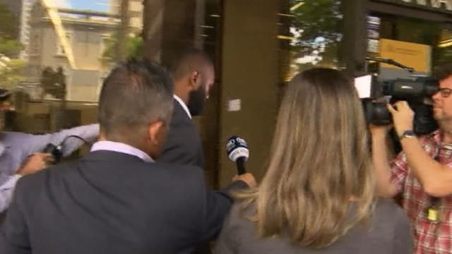 Radradra arrives for court hearing