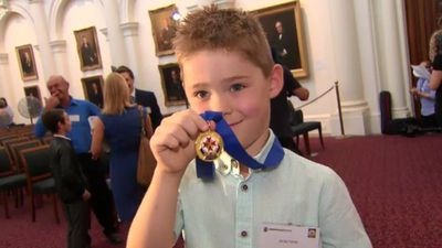 Meet the heroic boy who helped save his grandma's life