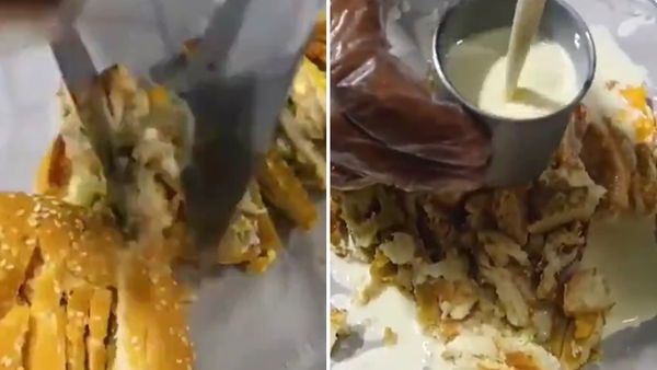 Viral video on Twitter turns McDonald's burger into ice cream
