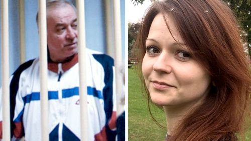 """Sergei Skripal and his daughter Yulia were poisoned by a nerve agent that the UK Prime Minister says """"highly likely"""" came from Russia. (AAP)"""