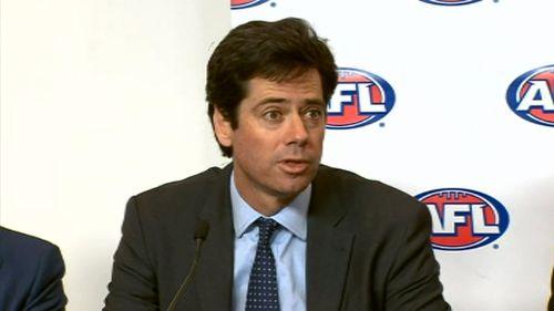 AFL CEO Gillon McLachlan. (9NEWS)