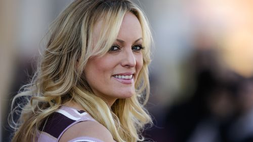 Stormy Daniels poses for Playboy