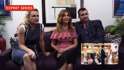 The Experts react to Cameron and Jules' wedding