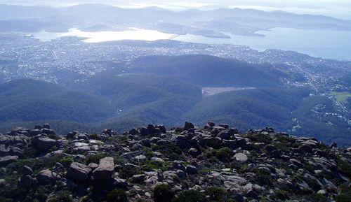 Tasmania's Mount Wellington, is forecast to drop to zero degrees early tomorrow, according to Weatherzone, with snow possible.