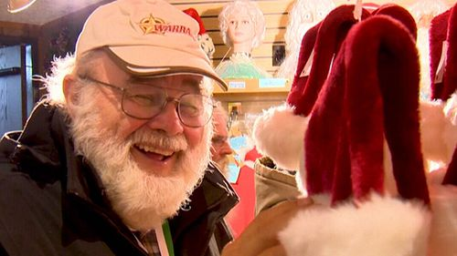 The real Santa needs help and is not afraid to ask for it. That's when his brothers, cousins and close friends get the call. (9NEWS)