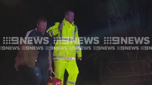 Far North Queensland floods Mackay creek escape rescue