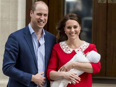Prince Louis is born, April 2018