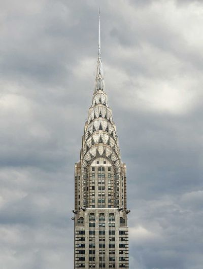 The Chrysler Building  in New York, New York
