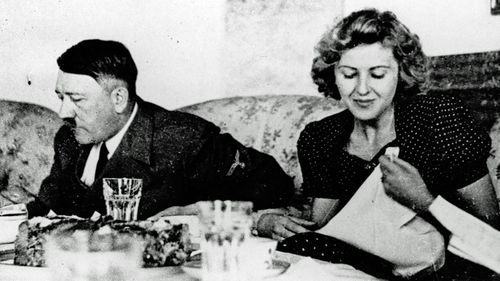 Hitler and his mistress Eva Braun whom he married before taking his own life in May 1945. (Photo: AP).