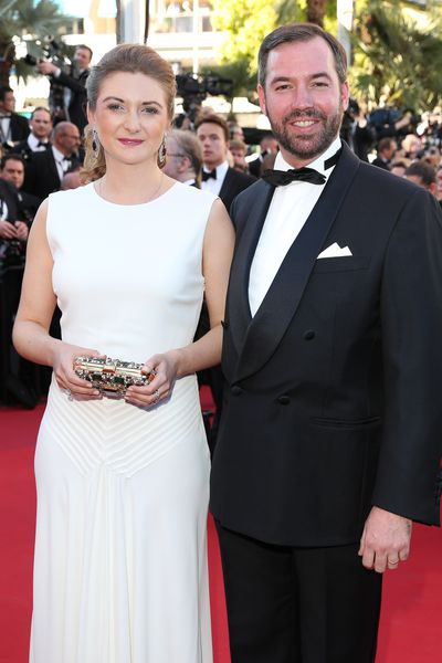 Princess Stephanie and Prince Guillaume of Luxembourg, 2017