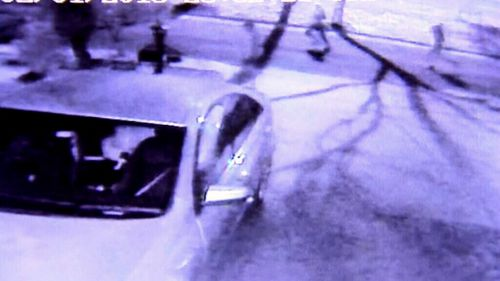 Up to 15 people were caught on CCTV attending the party. (9NEWS)