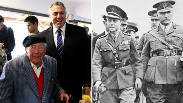 Joe Hockey following in family footsteps at Beersheba