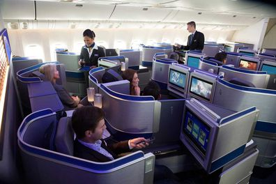 The United Airlines Boeing 787-9 aircraft are some of the most technologically advanced aircraft flying.