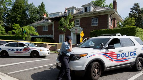 The four bodies were found when police responded to fire at the Savopoulos home.