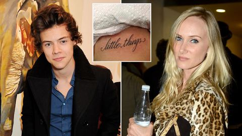 Harry Styles Got A New Tattoo Is Dating Rod Stewart S 33 Year Old