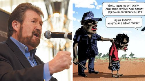 Senator Derryn Hinch backs 'racist' Bill Leak cartoon