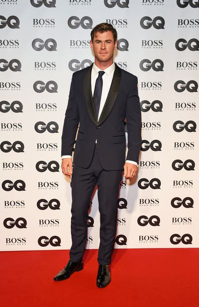 Chris Hemsworth at the 2018 GQ Men of the Year Awards